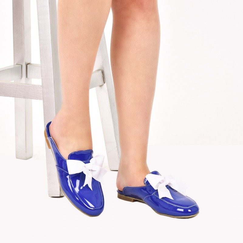 SAX BLUE SLIPPER